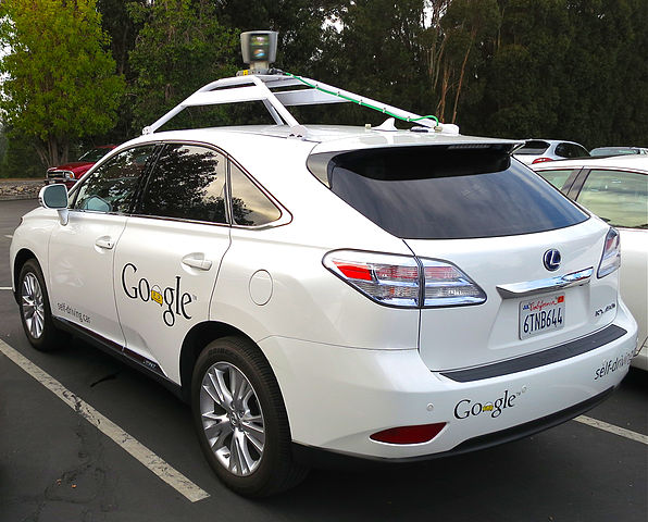 robot car google